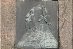 Relief mit Gustav Adolf